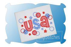 I OWN - USA Applique
