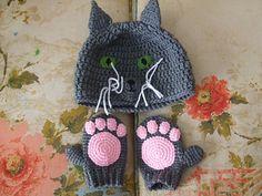 letsjustgethooking : FREE PATTERN Animal Winter Wear DISCLAIMER Fir...