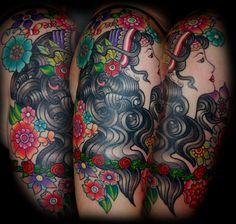 I love my beautiful gypsy ...   Tattoos by Laura Jade