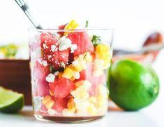 Japanese Cucumber Salad, Salads To Go, Easy Salads, Food Processor Uses, Hot Corn, Recipe Icon, Canned Corn, Watermelon Salad