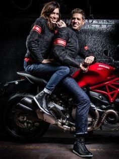 BEM-VINDO AO E.S.P FASHION BLOG BRASIL: Jeans Ducati para os motociclistas com visual radi...