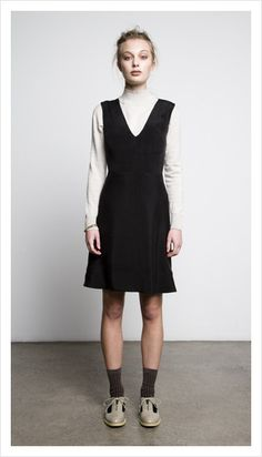Love this, a dress for Friday.