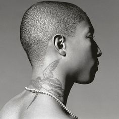 WEBSTA @ ysl_one - I never thought I would but I'm now thinking about getting my neck tattooed. Still indecisive about this one. What do you guys think? Picture - Pharrell Williams #fashion #fashionista #fashionblog #fashionblogger #fashiondiaries #street #streetwear #style #stylish #cool #menswear #fit #model #music #fitfam #clothes #outfit #outfitoftheday #mensfashion #him #aesthetics #sweet #fashionable #shopping #mensstyle #selfie #uk #london #tattoos