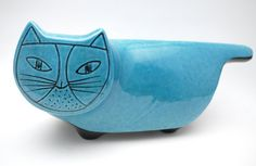Baldelli 60's Blue Cat Bank. I'm not usually into cat things, but I dig this retro kitty.