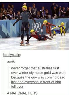 Hahaha go Aussies