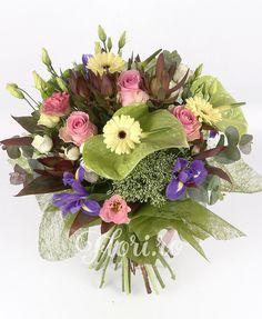 Cuvinte dulci Iris, Floral Wreath, Tropical, Wreaths, Home Decor, Irise, Decoration Home, Room Decor, Irises