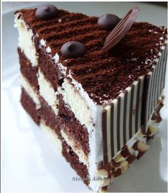 Checkerboard Party Cake