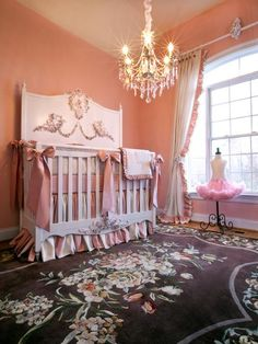 Mirabelle Baby Bedding and Nursery Necessities in Interior Design Guide : All Baby Bedding at PoshTots Baby Room Decor, Nursery Room, Girl Nursery, Girls Bedroom, Nursery Ideas, Bedrooms, Room Ideas, Nursery Murals, Nursery Curtains