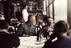Adolf Hitler with Wilhelm Keitel.