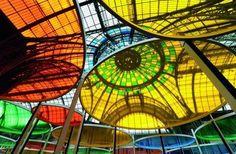 Daniel Buren. Exposition Monumenta grand Palais.Paris