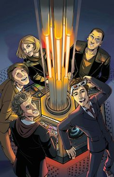 9,10,11,12 AND 13 IN THE TARDIS.