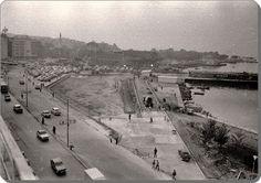 Kadıköy - Sahil dolduruluyor. 1970 ler