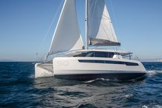 Sailing Catamaran, Us Sailing, Buy A Boat, Sailing Adventures, Panama Canal, Sail Boats, Canoes, Transportation Design, Fort Lauderdale