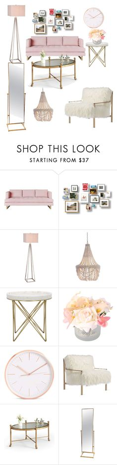 """""""Untitled #295"""" by sevncblt ❤ liked on Polyvore featuring interior, interiors, interior design, home, home decor, interior decorating, Gus* Modern, JAlexander, Pottery Barn and Axel"""