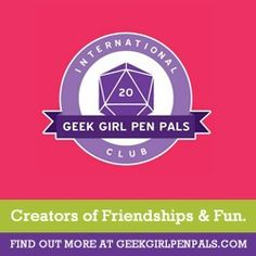 5 Tips For Making A Good Connection With Your Pen Pal | International Geek Girl Pen Pals Club