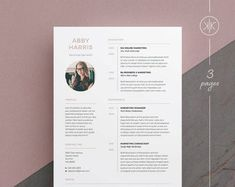 Resumes that help you make a great first impression! by KekeResumeBoutique Create A Resume, Resume Help, Resume Cv, Cv Cover Letter, Cover Letter Template, Letter Templates, Cv Design, Resume Design, Design Ideas
