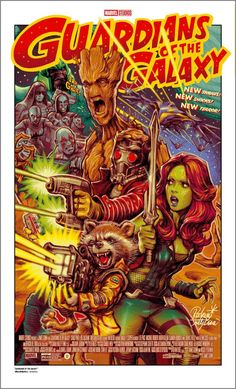 Guardians Of The Galaxy Retro Poster - Rockin' Jelly Bean Marvel Movie Posters, Comic Poster, Vintage Movie Posters, Poster Marvel, Gig Poster, Marvel Art, Et Wallpaper, Marvel Wallpaper, Vintage Cartoon