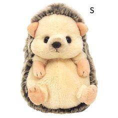 "Advertisement - Sunlemon ""Fluffies Plush Doll S size Hedgehog"" Kawaii Plush, Cute Plush, Cute Stuffed Animals, Mode Shop, Soft Dolls, Plush Dolls, Plushies, Cuddling, Origami"