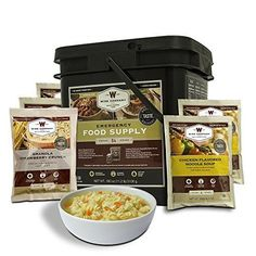 Wise Company 84 Serving Breakfast Entrée Grab and Go Food Kit -- See this great item shown here  : Camping equipment