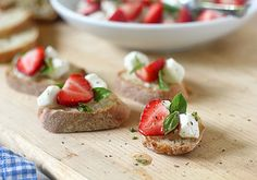 The Galley Gourmet: Strawberry Caprese Salad