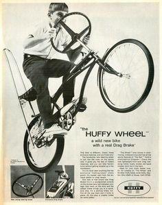 Huffy Steering Wheel Bike 1969 that my customers keep looking for.