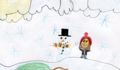 TUESDAY'S FORECAST: Sunshine and 41 degrees. Rylie Burnham, age 10, of St. Regis created today's weather picture. Weather art from Montana kids runs every day in the Missoulian.