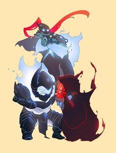 More Chibi Shadows [ft. Igris, Tank, Iron, and Tusks] : sololeveling - Gekiga Manga Fanart Manga, Anime Manga, Anime Guys, Anime Art, Character Concept, Character Art, Character Design, Cool Anime Wallpapers, Animes Wallpapers