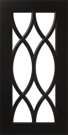 French Mullion Lite Pattern Cabinet Door for Glass   WalzCraft ... this would go well with the Moroccan tile design on the wallpaper!!!