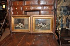 A WONDERFUL PAIR OF MID 19TH CENTURY OILS BY EDWIN LODER. (1827-1885).