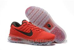 promo code 4b3a2 eedca Authentic Nike Air Max 2017 Red Black New Style B4xizb, Price   69.73