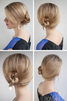 30 DIY Buns Hairstyles for Variety Daily Hair Ideas