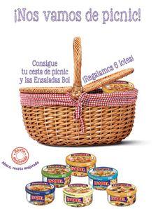 ¡Sorteo de 6 lotes de cesta de picnic   Ensaladas Bol!