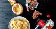 Sjekk hvor mange biter med melkesjokolade som tilsvarer like mange kalorier som en vanlig middag. Snacks, Appetizers, Treats