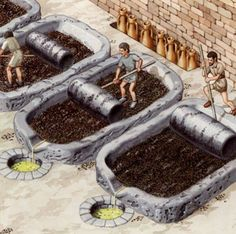 Pressure roller system - how ancient olive oil was made. Pressure roller system - how ancient olive oil was made. Ancient Rome, Ancient Greece, Ancient Art, Ancient History, Objets Antiques, Primitive Technology, Roman History, Carthage, Historical Architecture