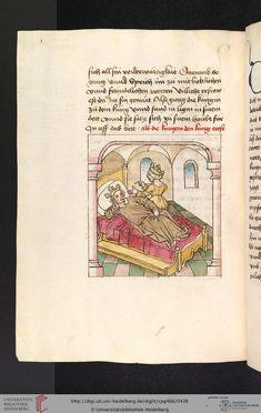 Cod. Pal. germ. 466 Antonius <von Pforr> Buch der Beispiele der alten Weisen — Oberschwaben, um 1475