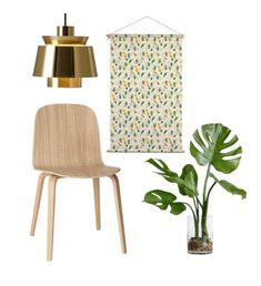 MIX & MATCH: Deze textielposter met Topus Birds patroon kan je combineren met licht hout, goud en planten! Dit patroon is op al onze interieur producten beschikbaar, kies je favoriet. ✍🏼 made by @studio.jelien  . .