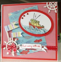 Ahoy There! Card