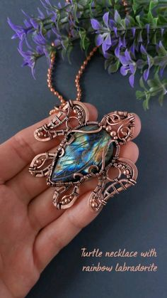 Wire Jewelry Patterns, Wire Jewelry Designs, Handmade Wire Jewelry, Diy Crafts Jewelry, Copper Jewelry, Beaded Jewelry, Copper Wire, Jewelry Ideas, Wire Jewelry Making