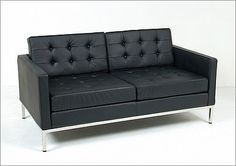Florence Knoll: Loveseat Reproduction