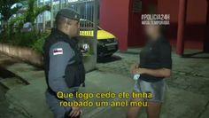 Tv Saqua Filme: Passa Anel / Polícia 24 Horas.