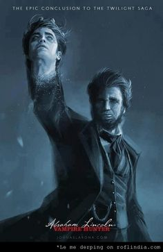 Twilight :: movies :: abraham lincoln vampire hunter :: edward cullen / funny pictures & best jokes: comics, images, video, humor, gif animation - i lol'd Cute Couple Quotes, Doctor Who, Heavy Metal, Abraham Lincoln Vampire Hunter, Couple Goals, Moment Of Silence, Romance, Chuck Norris, Pictures Online