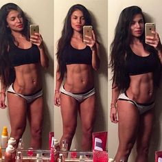 Luz Herrera abs Selfie https://thecrossfit.tumblr.com/