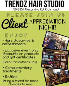 Grand Opening Flyer Ideas Embrace Hair Salon & Spa Open House