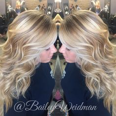 Back in blonde! Baliage blonde highlights for that gorgeous natural blonde look!