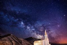 Beautiful Star Valley Wyoming Temple. #lds #Temples