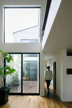 Home, House Rooms, House Exterior, House Design, Interior, Patio Design, Natural Interior, Interior Design Kitchen, Japan Interior