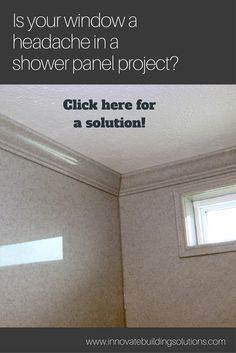 small bathroom remodel can be deceptive. Worry too much and you may be delightfully surprised that you pulled it off with such ease. Underthink it and you may get bitten in the end. Budget Bathroom, Bathroom Wall Decor, Bathroom Remodeling, Remodeling Ideas, Small Bathroom, Bathroom Ideas, Bathrooms, Window In Shower, Shower Wall Panels
