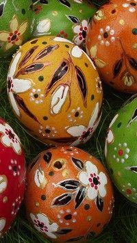 Malowane jajka
