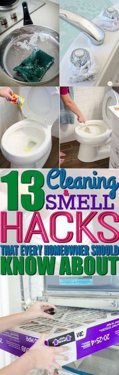 Best Ideas About DIY Life Hacks & Crafts 2017 / 2018 I'm so happy that I found these cleaning and smell hacks from this post! Cleaning my home and making my home smell good is so easy to do now! You have to try these hacks! Household Cleaning Tips, Cleaning Recipes, House Cleaning Tips, Deep Cleaning, Spring Cleaning, Cleaning Hacks, Household Cleaners, Cleaning Checklist, Cleaning Supplies