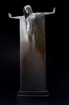 Michael James Talbot - Ophelia (Bronze with patina)